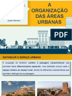 Organização Áreas Urbanas I - Arinda