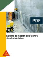 Sika Sisteme de Injectari Sika Pentru Structuri de Beton