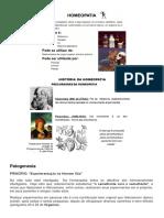 Farmacotécnica II e Homeopatia