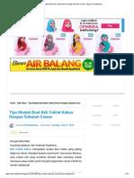 Tips Mudah Buat Kek Coklat Kukus Dengan Sukatan Cawan - Blog Cik Matahariku