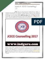 JCECE Counselling