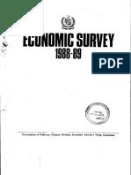 Economic Survey 1988-89