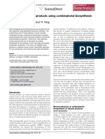 Engineering Natural Products Using Combinatorial Biosynthesis and Biocatalysis