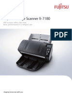 Fujitsu fi-7180 Colour Document Scanner