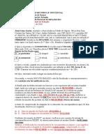 Notificação Insubsistente 2ª Instância Josué Osasco Fev. 2011