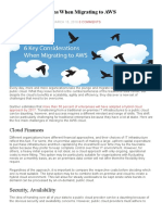6 Key Considerations When Migrating to AWS - DevOps