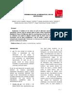 Determinacion Del Ph Mediante El Uso de Indicadores