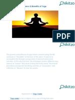 Importance & Benefits of Yoga