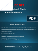 CBSE UGC NET Examination | Complete Details
