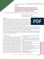 Ojolns-10 - II - Effects of Glossopharyngeal