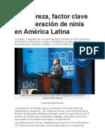Pobreza America Latina