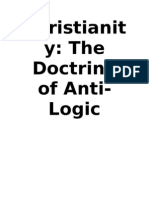 Christianity-The Doctrine of Anti-Logic 2 (Updated)