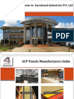 Aluminium Composite Panel Manufacturers India