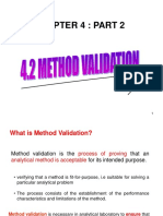 Lecture Method Validation