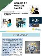 MANEJO SEGURO DE HERRAMIENTAS PARA MS CONSTRUIMOS.ppt