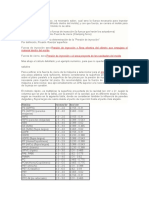 Datos Sobre Presion de Inyeccion y de Cierre