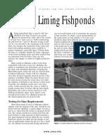 Liming Fishponds