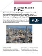Completion of the World's  Largest LPG Plant