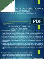 Presentacion Clasificacion de Las Computadoras y Tics Act a8