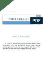 Fistula in Ano[1]