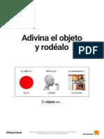 Adivina El Objeto y Rodéalo