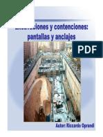 Excavaciones y Contenciones 03-09-10