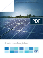 WEG Soluciones en Energia Solar 50029356 Catalogo Espanol