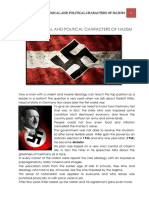 ideological and political character of nazism