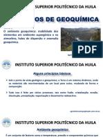Tema 1.Ambiente Geoquímico