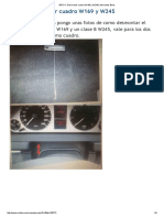 BRICO_ Desmontar Cuadro W169 y W245 _ Mercedes-Benz