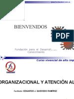Presentación Curso Cultura de Servicio y Atención Al Público