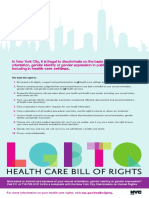 LGBTQ Bill of Rights Poster