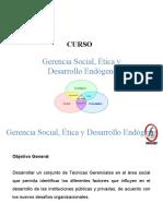 FUNDASABER Manual Gerencia Social, Ética y Desarrollo Endógeno 1