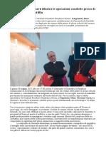 Segretario Giovanni Carrù Le Operazioni Condotte Presso Le Catacombe Di Domitilla