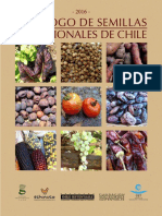 Catalogo de Semillas de Chile 2016