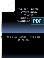 The Bail System