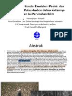 Hanung Agus Mulyadi APIKI Maluku 2016