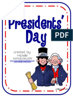 2. Presidents Day Poem & Free Printables