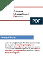 colestasis intrahepatica del embarazo