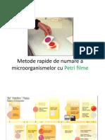 C3_Petrifilme, Metoda Filtrarii