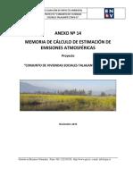 Estimación de emisiones atmosféricas