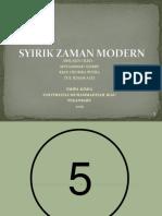 Syirik Zaman Modern