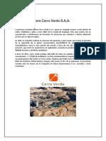 Sociedad Minera Cerro Verde