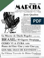 Marcha Nº 1044 27 Enero 61 - La Feria Por Dentro, o El Arte de Vender Uruguayos