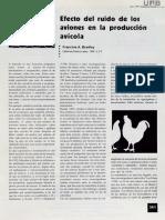 Efectos Del Ruido en La Reproduccion Avicola