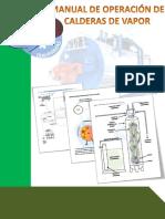 MANUAL DE OPERACION DE CALDERAS DE VAPOR .pdf