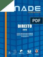 Prova Do ENADE 2015 - Gabarito Comentado