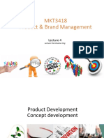 MKT3418 Lecture 4 Plain