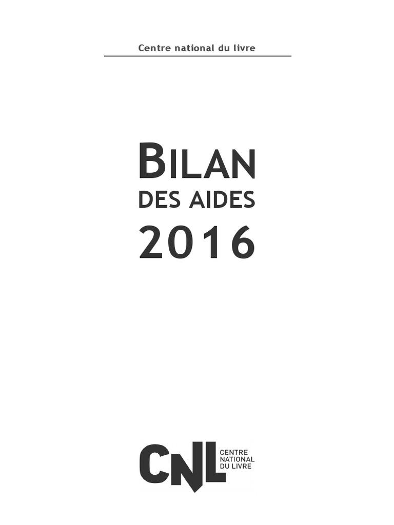 Aides Cnl 2016 Fiction Et Littérature