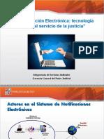 Notificaciones Electronica - Ambiente de Pruebas